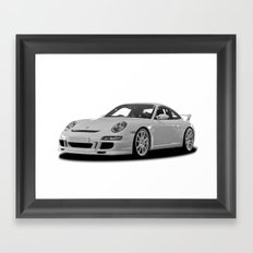 Porsche Car Framed Art Print