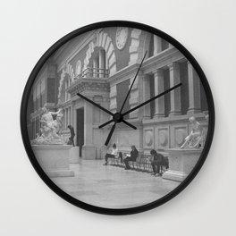 Marble Room 1 Wall Clock
