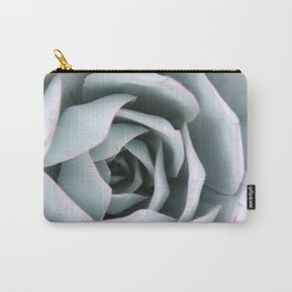 Serene Succulent Carry-All Pouch