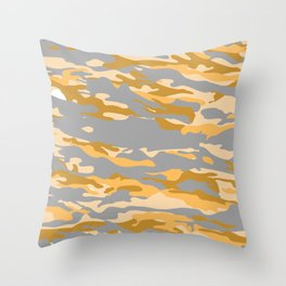 Midnight in a Oasis?. Throw Pillow