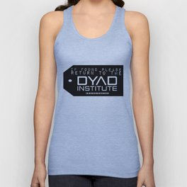 If found Return to the DYAD Unisex Tank Top