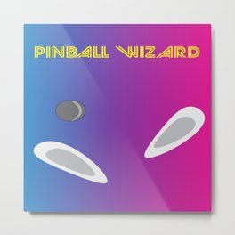 Pinball Wizard Metal Print
