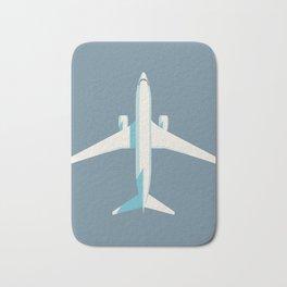 737 Passenger Jet Airliner Aircraft - Slate Bath Mat