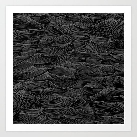 Abstract Waves.... Art Print