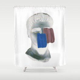 ....Modern Antic... Shower Curtain