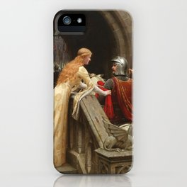 "Edmund Blair Leighton ""God Speed!"" iPhone Case"