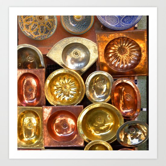 All that glistens is not gold. Art Print
