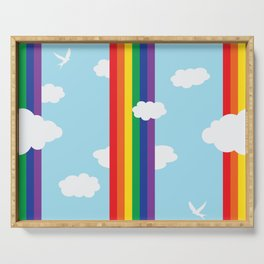 Lost in a Day Dream Serving Tray