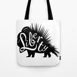 Porcupine of Liberty Tote Bag
