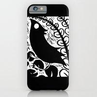 Doodlebird Print iPhone 6s Slim Case