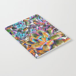 Floral tribute [galaxy] Notebook