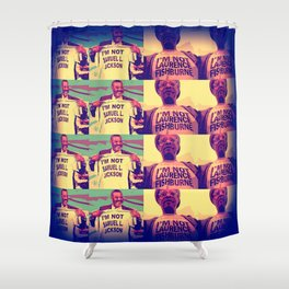 Is It Jackson Or Fishburne? Shower Curtain