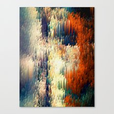 Red Pattern - Seminal Regression - Limited Edition 30 ex. Canvas Print