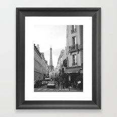 Rue St Dominique Framed Art Print