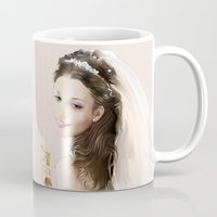 bride Mugs featuring bride by tatiana-teni