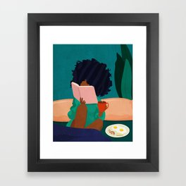 Stay Home No. 5 Framed Art Print