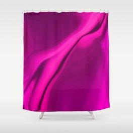 Smooth Pink Design Shower Curtain