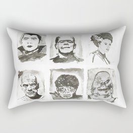 Monsters of Horror Classics Rectangular Pillow