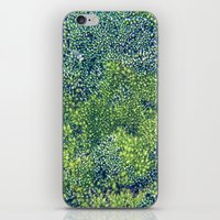 moss iPhone & iPod Skins featuring Moss by Scarlet