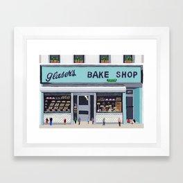 Glaser's bake shop Framed Art Print