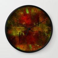 velvet underground Wall Clocks featuring underground by Joe Ganech