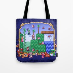 Mario Super Bros, Too Tote Bag