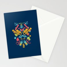 Turf Wars Stationery Cards