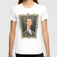 pee wee T-shirts featuring Pee Wee Herman by Audrey Benjaminsen