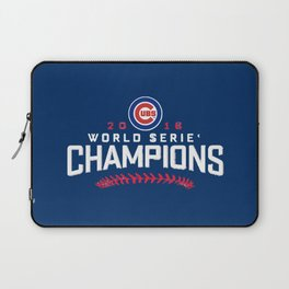 cubs champions Laptop Sleeve