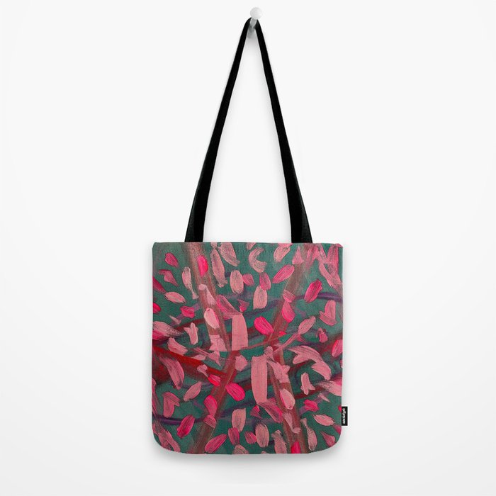 Vivacity in Pink Tote Bag