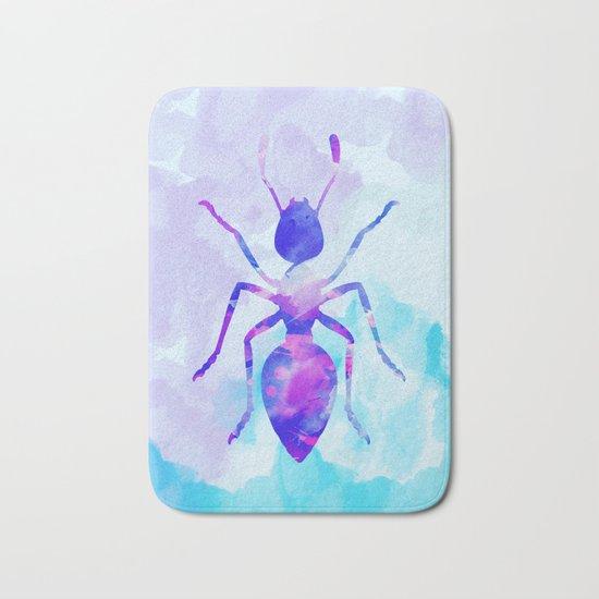 Abstract Ant Bath Mat