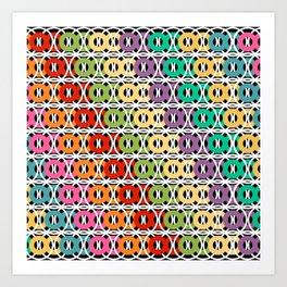 Rangeen Britto Dui Art Print