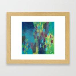 Rainy Day in Wonderland Framed Art Print