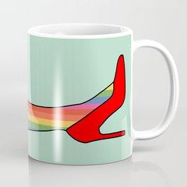 Rainbow Pride Stockings - Red Shoes Coffee Mug