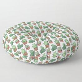 Cacti Cat pattern Floor Pillow
