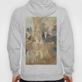 """Henri de Toulouse-Lautrec """"Au Bal masqué de l'Elysée Montmartre"""" Hoody"""