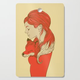 Lady Fox Cutting Board