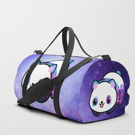 Kawaii Galactic Mighty Panda Duffle Bag