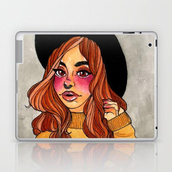 Fall Witch Laptop & iPad Skin