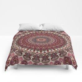 Mediterranean Boho Kaleidoscope Comforters