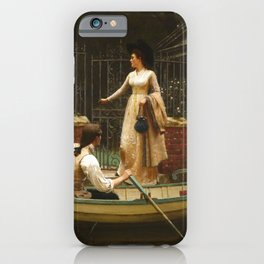 "Edmund Blair Leighton ""The Elopement"" iPhone Case"
