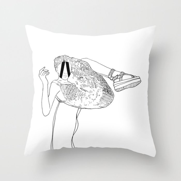 inward, every time. Throw Pillow