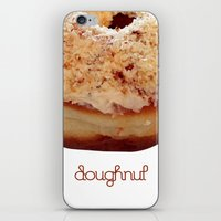 doughnut iPhone & iPod Skins featuring Doughnut by lumvina