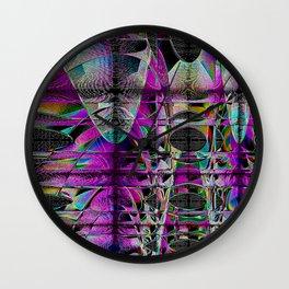 Nanometric Wall Clock