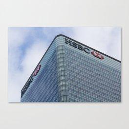HSBC Tower London Canvas Print