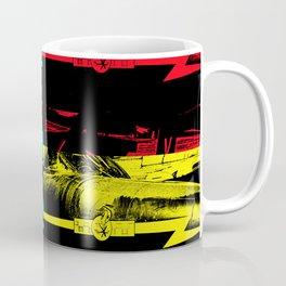 The Pop Art Hawker Hunter jet Coffee Mug