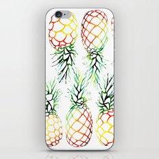 Retro Pineapples iPhone & iPod Skin