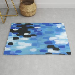 Cobalt Night Rug