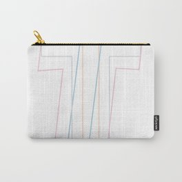 Intertwined Strength and Elegance of the Letter H Carry-All Pouch