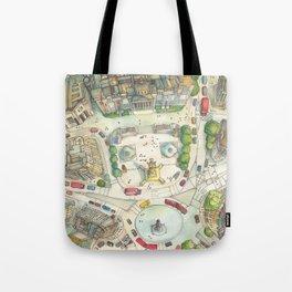 Trafalgar Square Tote Bag